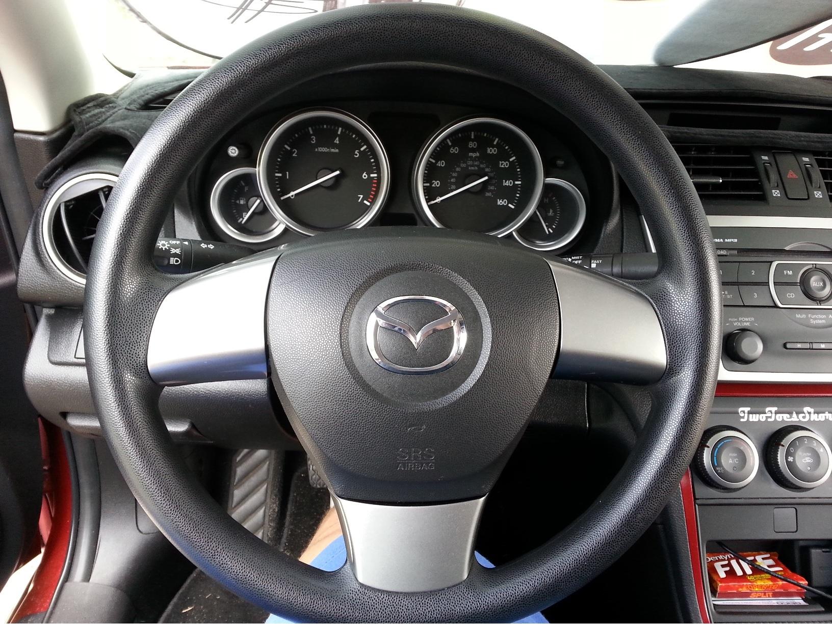 Diy Replacing Steering Wheel Mazda 6 Forums Forum 2002 Column Wiring Click Image For Larger Version Name 001 Originalwheel Views 234 Size