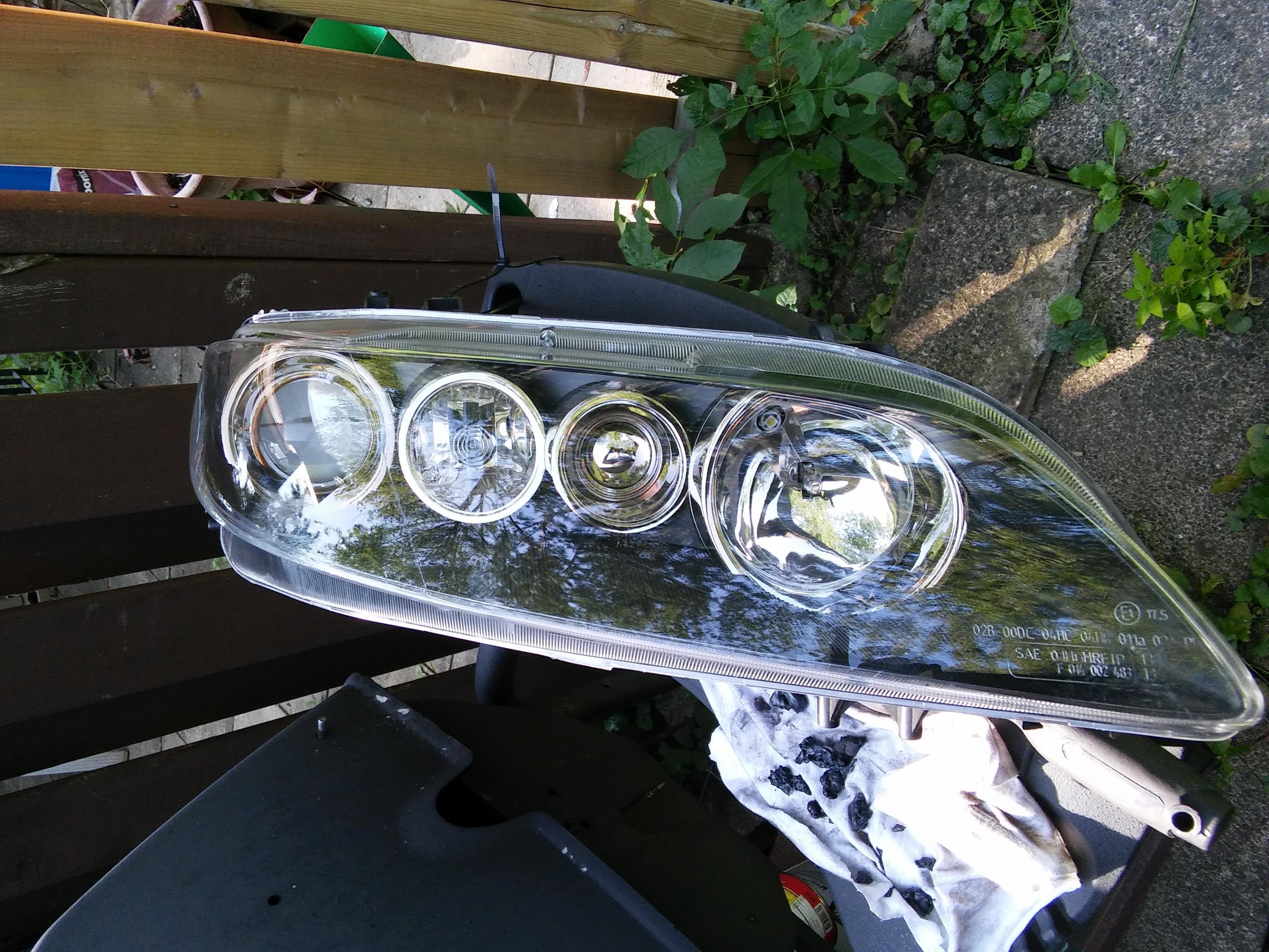 itm for xenon ballast drl american north mazda version headlight led