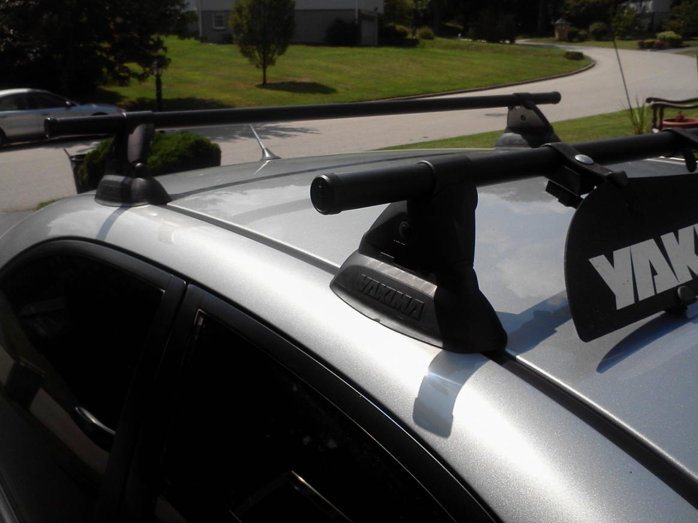elantra mount roof racks hyundai bike rack forklift yakima