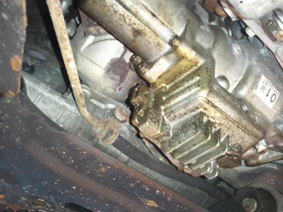 Mazda Cx  Touring Transmission Fill Plug