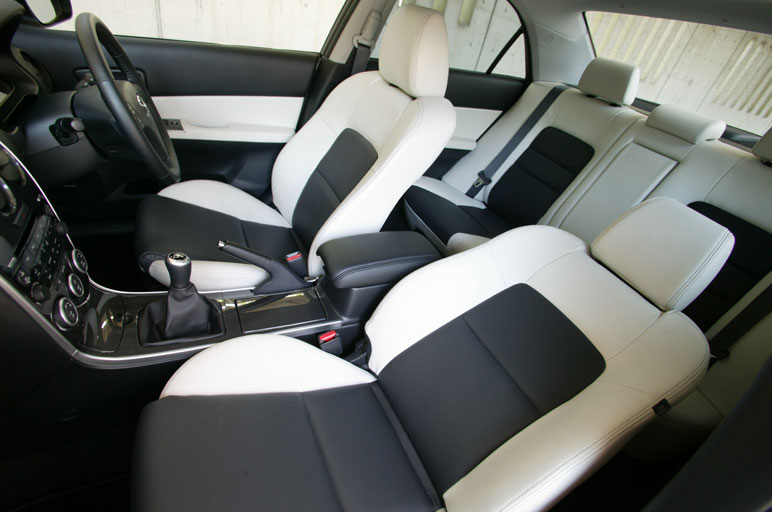 any pictures of black/white interior? - Mazda 6 Forums : Mazda 6 ...
