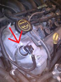 Oil leak on valve cover electronics - what is it? | Mazda 6