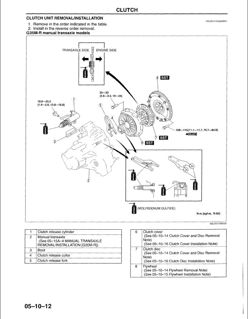 2004 Mazda6 Original Wiring Diagram Mazda 6