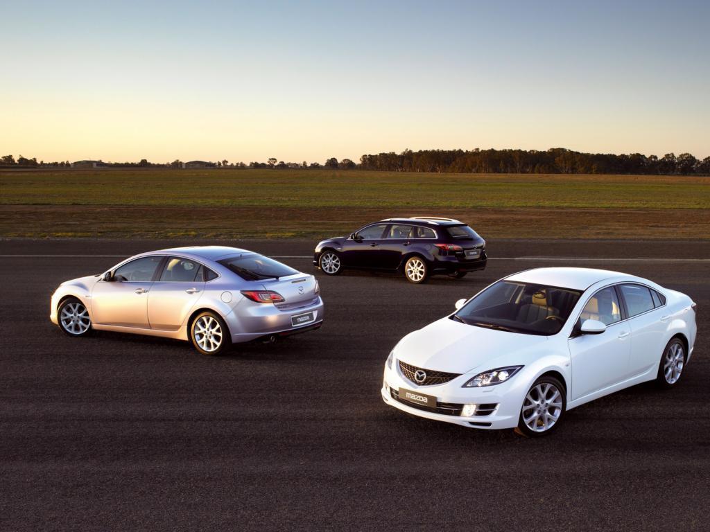 Фотографии автомобилей Mazda 6 2…