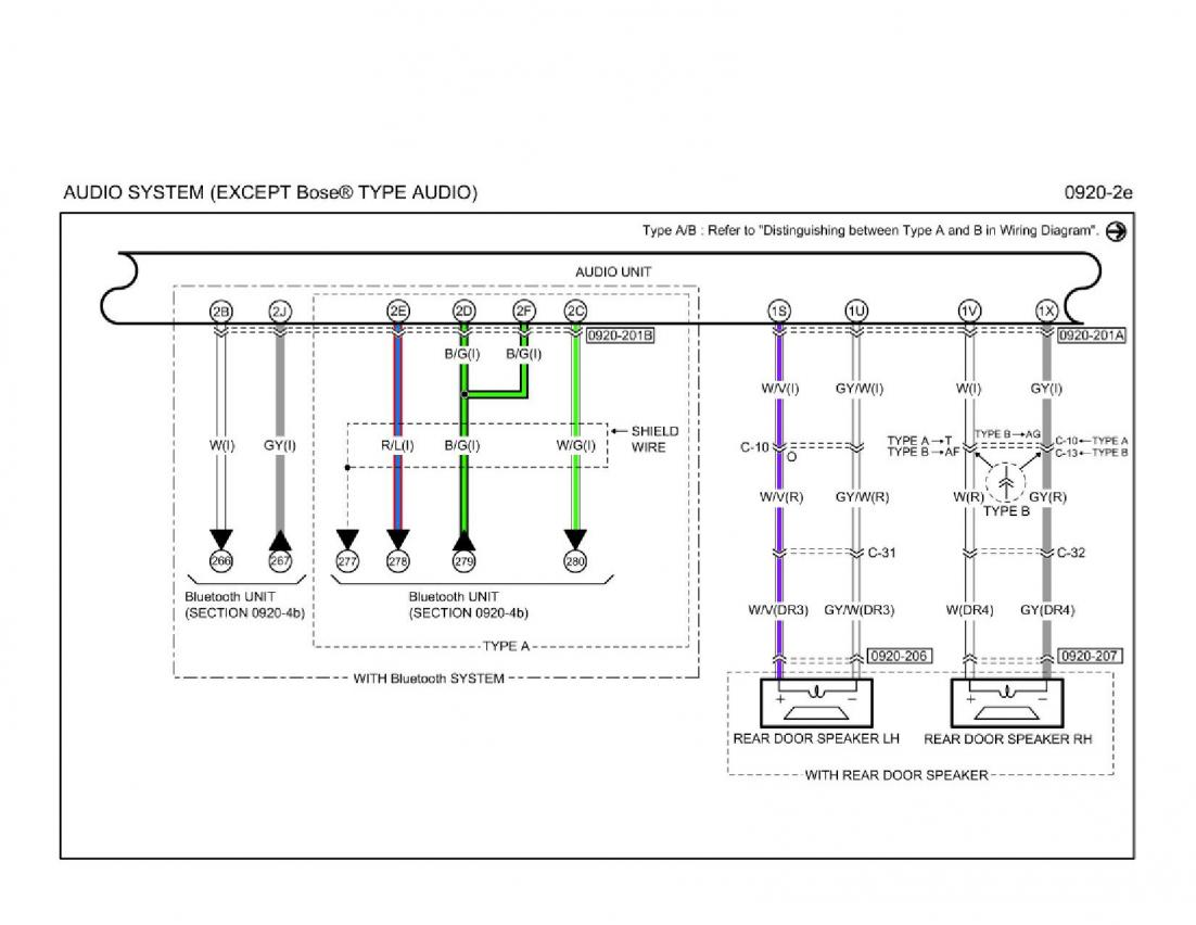 mazda 6 stereo diagram color version of non-bose stereo diagram - mazda 6 forums ... 2006 mazda 6 stereo wiring diagram