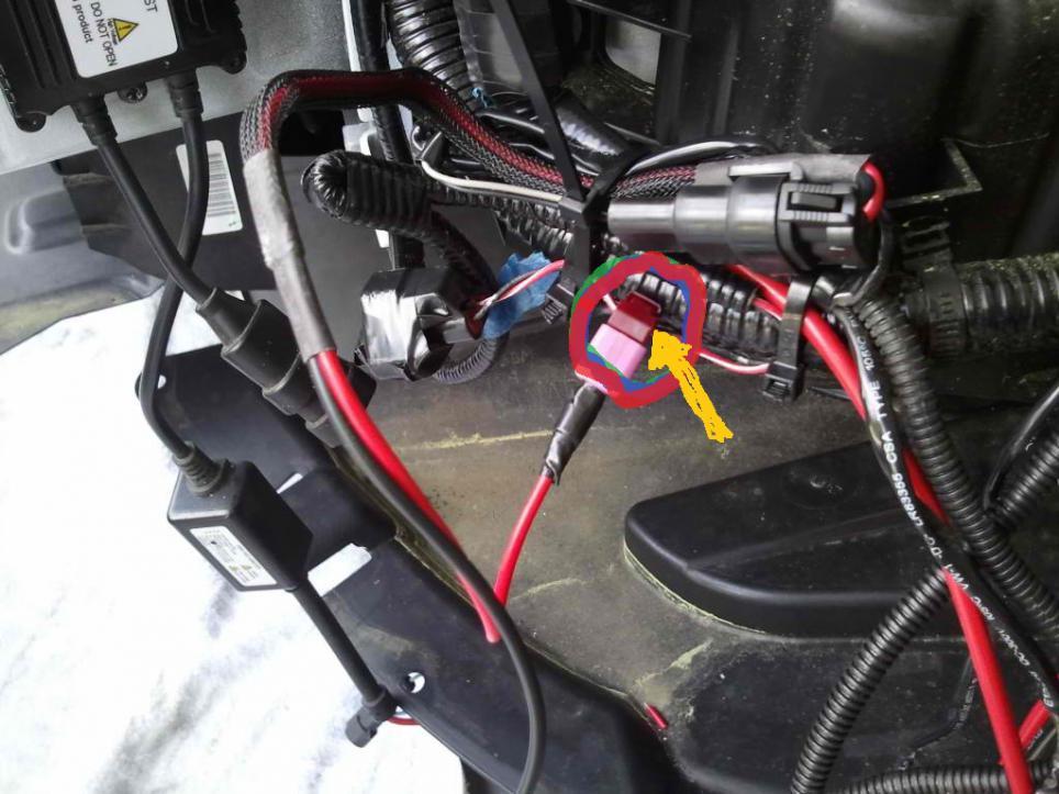 2006 mazda 6 headlight wiring how to: install hid headlights & foglights with relay ...