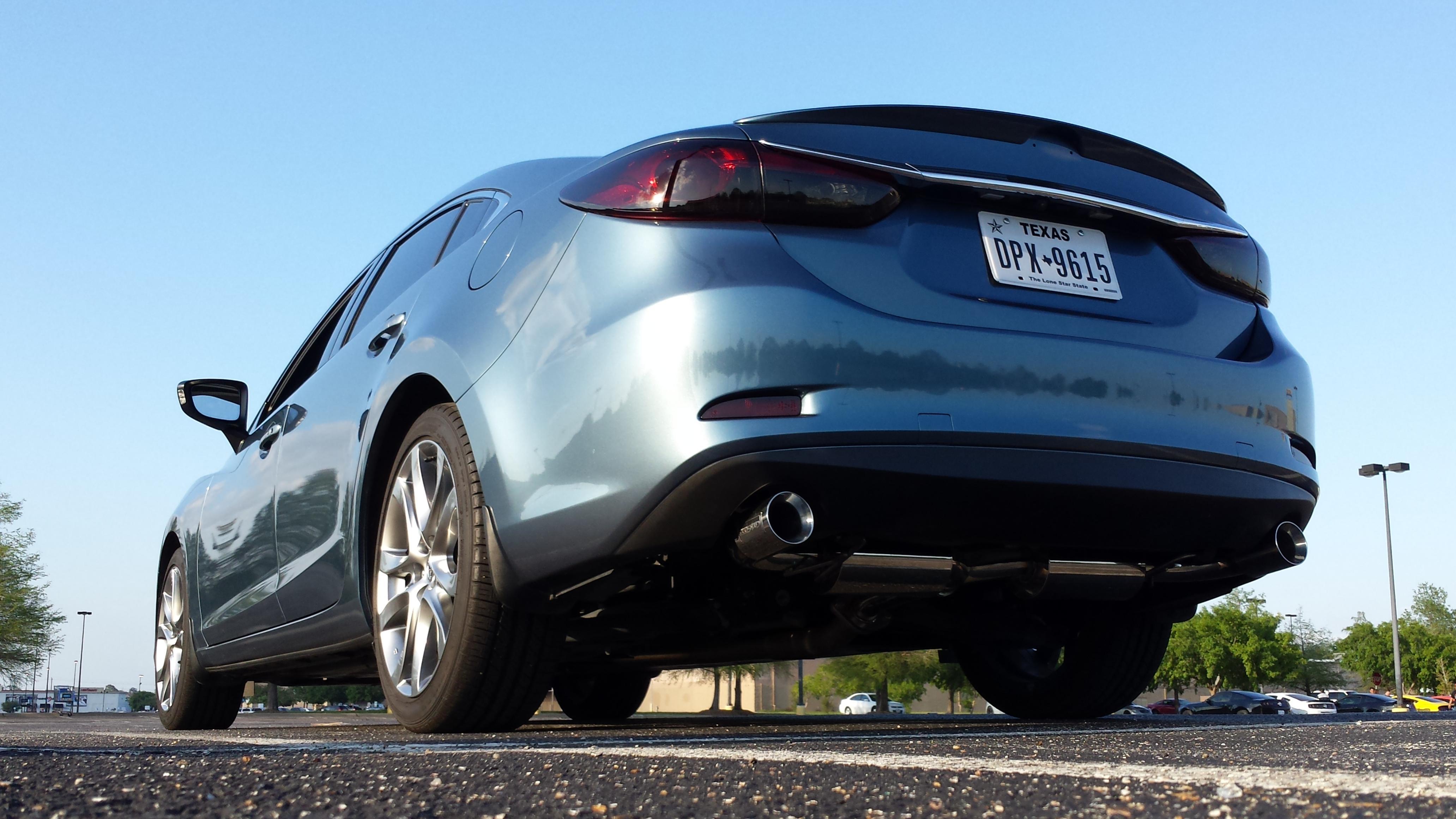 Racing Beat Exhaust VS. CorkSport Exhaust - Mazda 6 Forums : Mazda