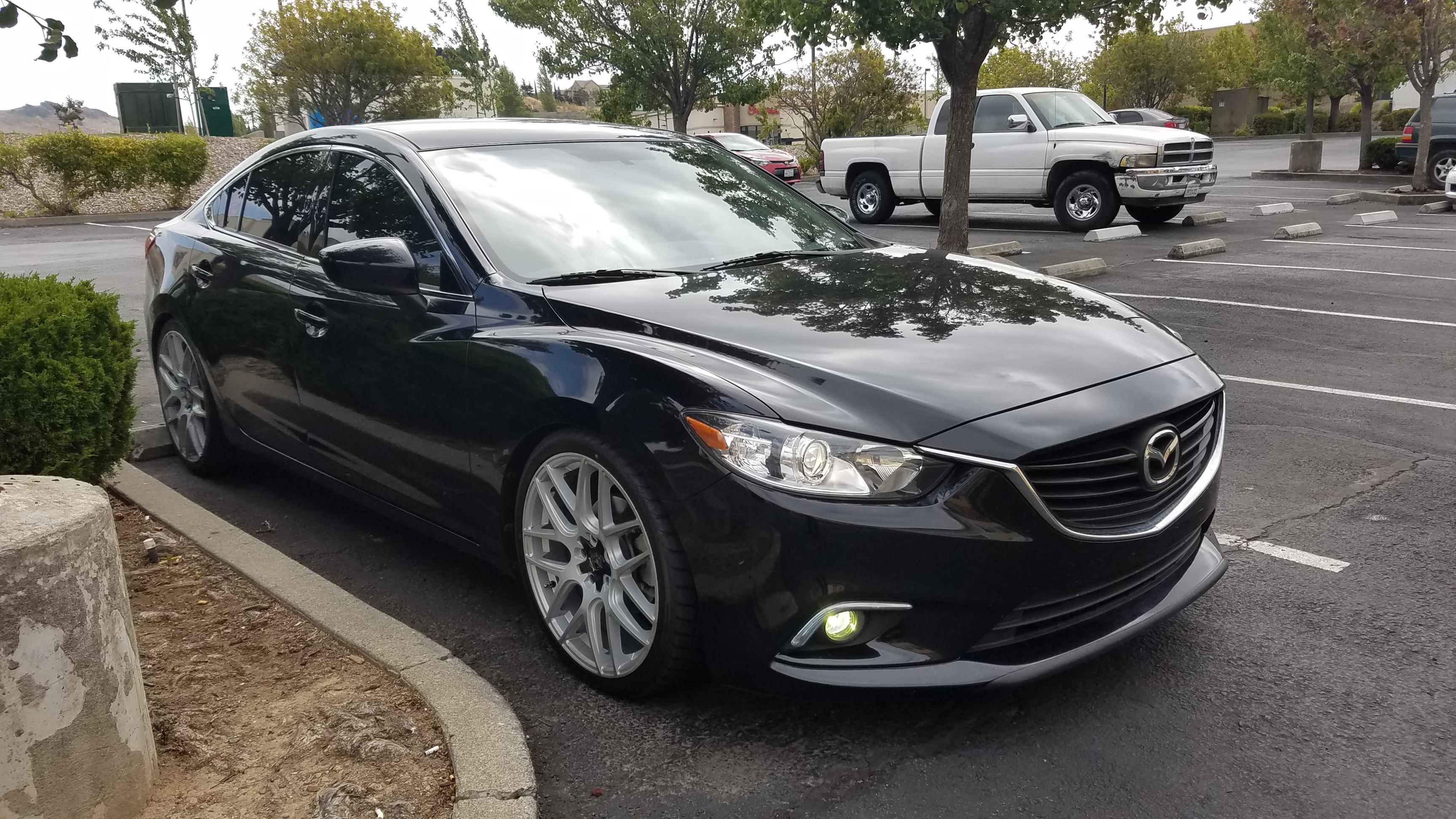 Fs 2015 Mazda 6 Mt With Mods Mazda 6 Forums Mazda 6 Forum Rh Forum  Mazda6club Com 2014 Mazda 3 Aftermarket White Tint Mazda 6 2009