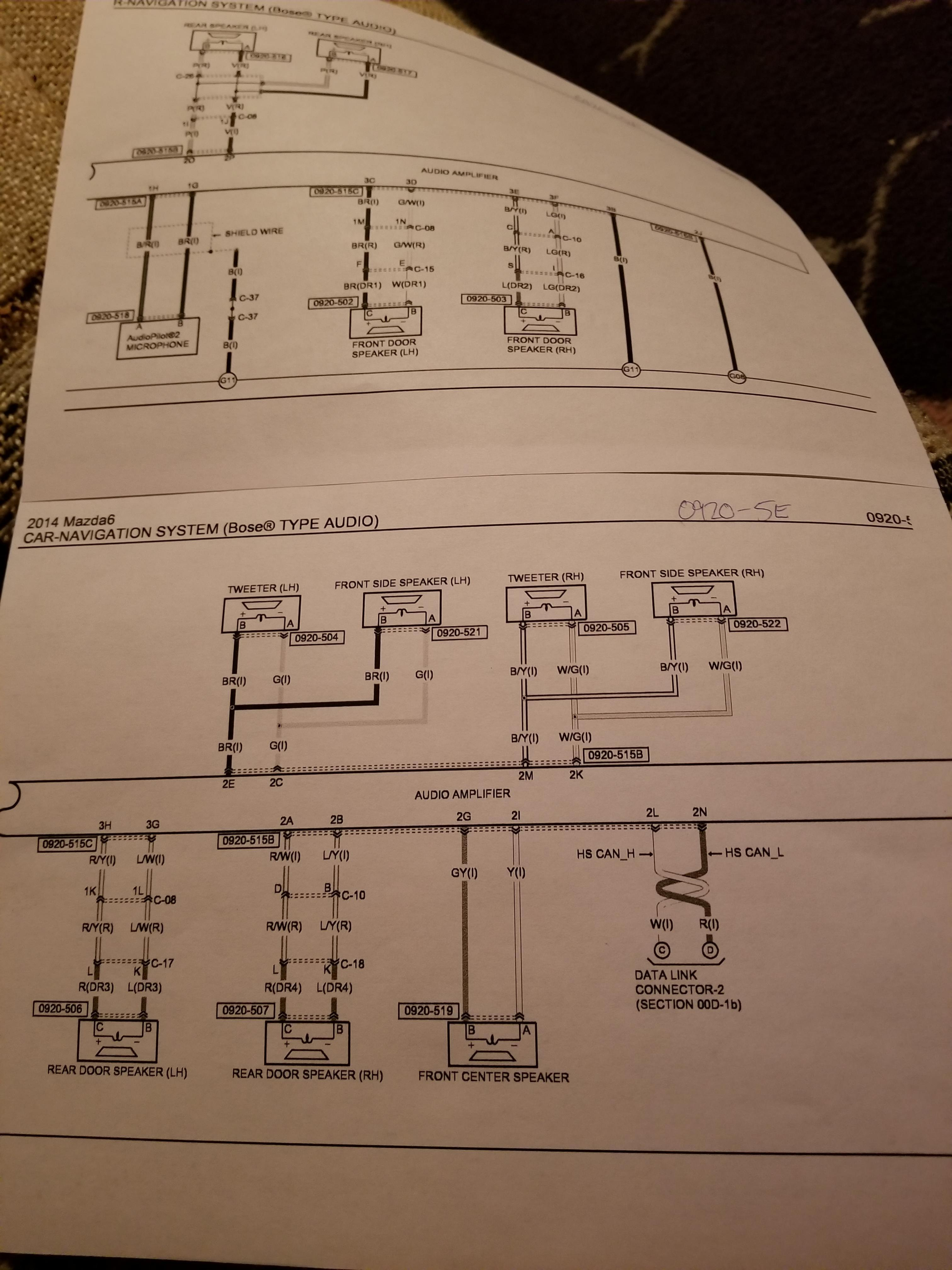 Wiring Diagram Together With 2006 Mazda 6 Wiring Diagram Besides
