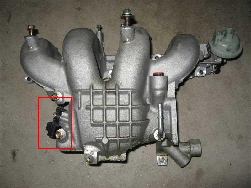 D Cosworth Intake Manifold on 2007 Mazda 3 Engine