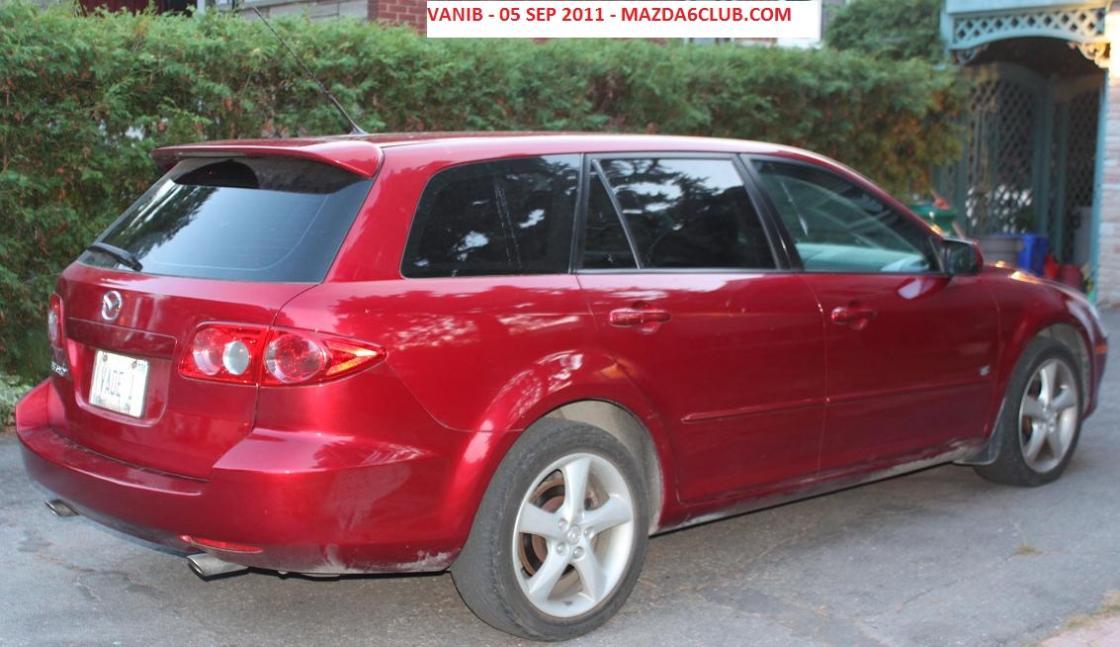 FS: Mazda 6s V6 2005 Wagon - Redfire - Ottawa - Mazda 6 Forums ...