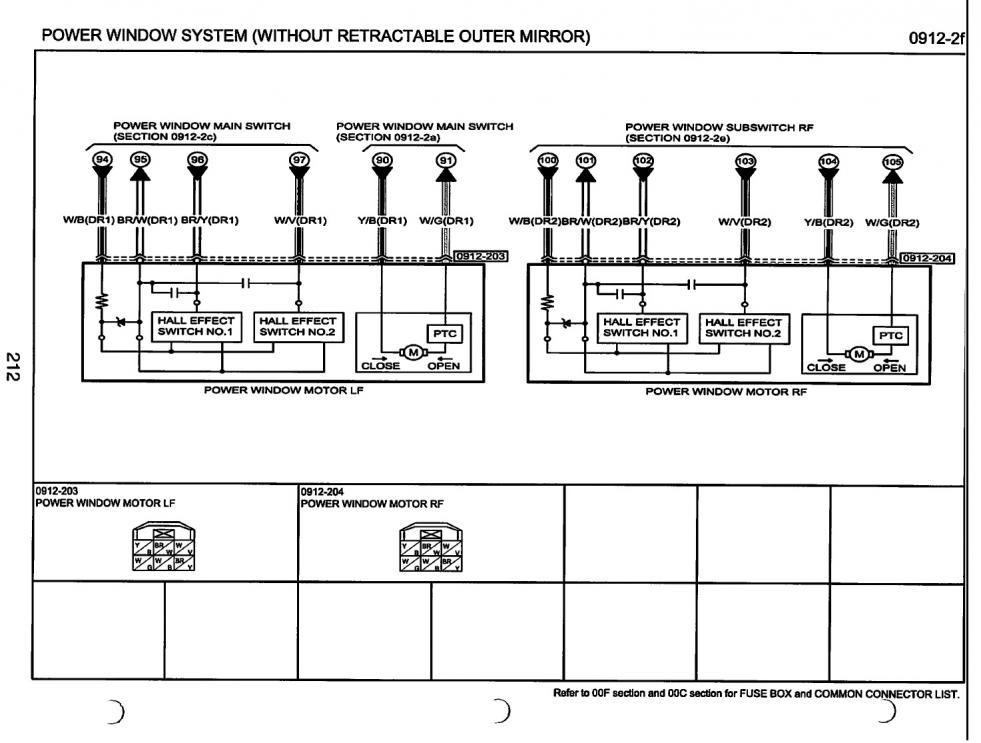 electrical wiring side mirrors mazda 6 forums mazda 6. Black Bedroom Furniture Sets. Home Design Ideas