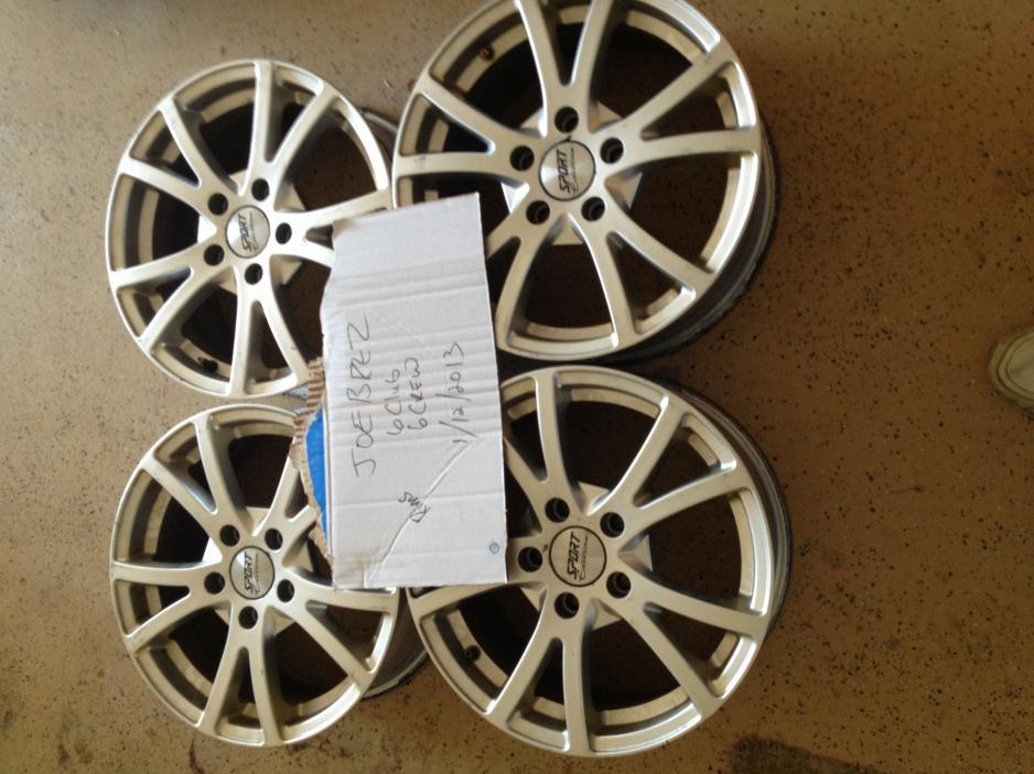 FS Sport Edition F10 Wheel 16  Mazda 6 Forums  Mazda 6 Forum