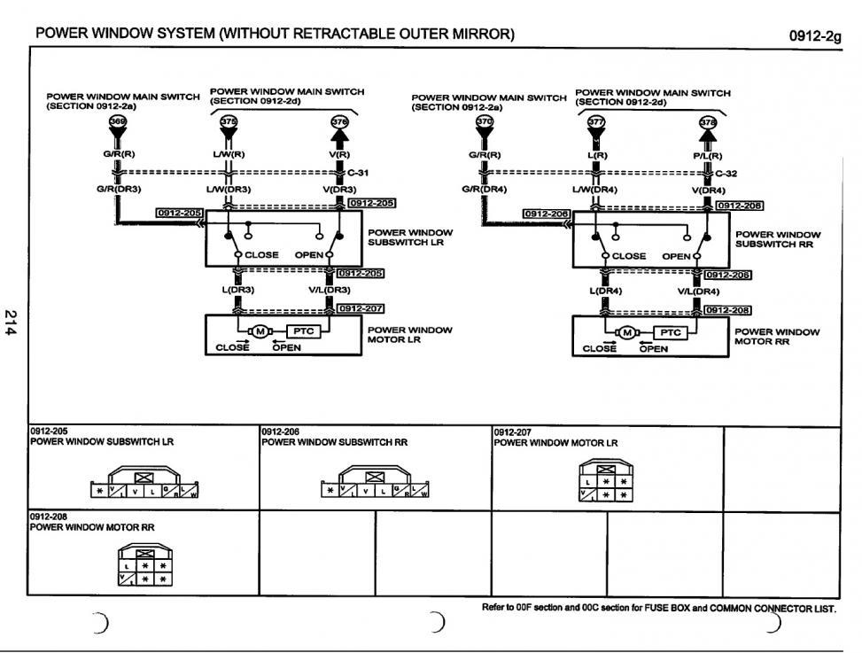 mazda 6 power window wiring diagram electrical wiring side mirrors mazda 6 forums  electrical wiring side mirrors mazda
