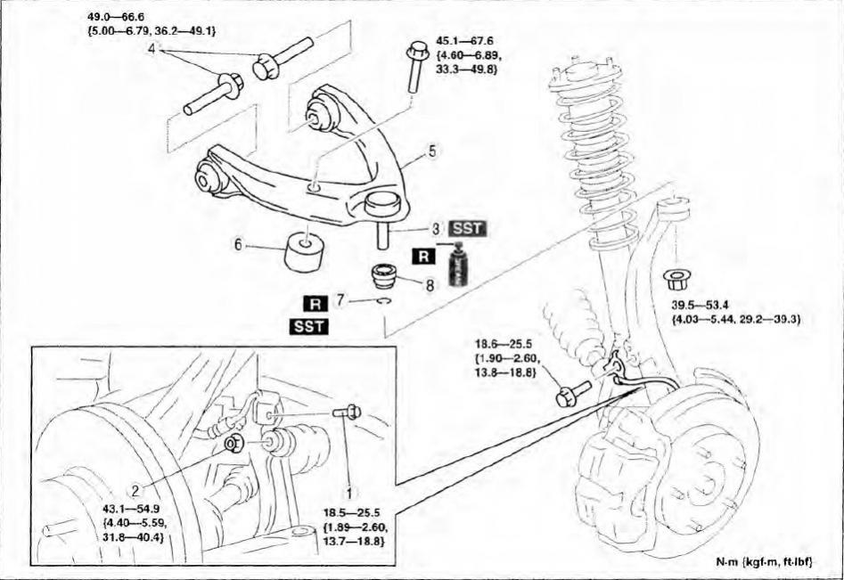 Front Suspension Torque Specifications | Page 2 | Mazda 6 ForumsMazda 6 Forums