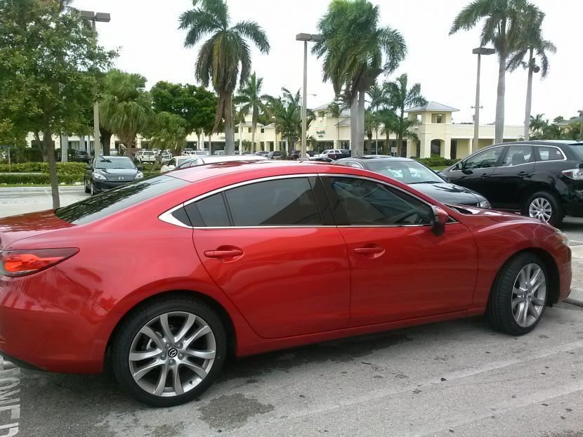 Red Window Tint >> Rims on '14 Mazda 6 - Mazda 6 Forums : Mazda 6 Forum / Mazda Atenza Forum
