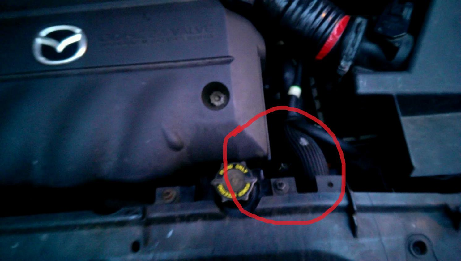 Coolant Leak Help? **Pics** | Mazda 6 Forums