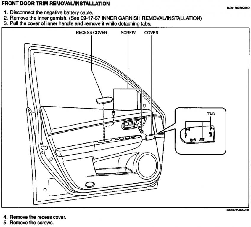 replacing driver side door mirror - 2nd gen