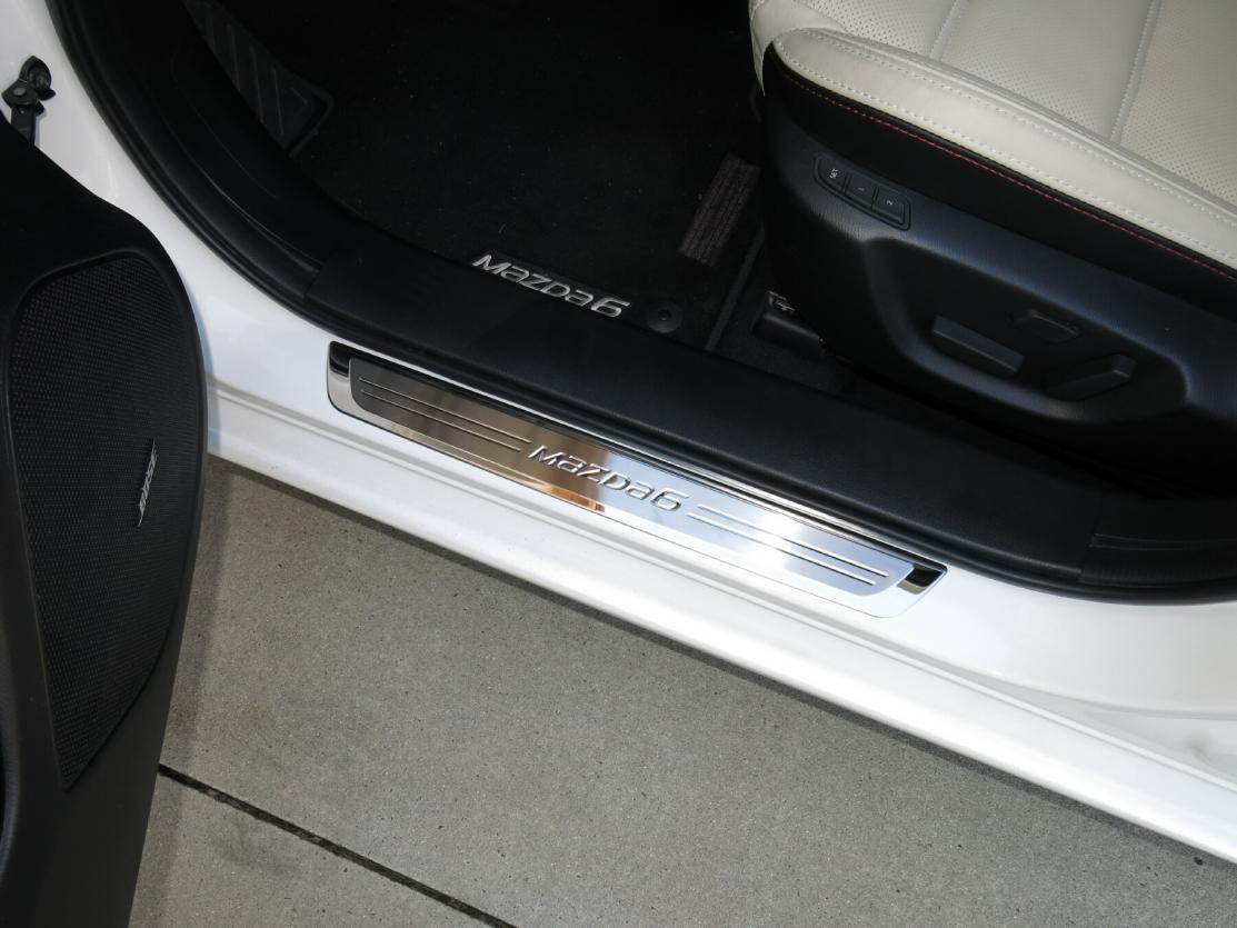 Trim Plates set of 4 2014-2017 Mazda3 Genuine OEM Door Sill Scuff