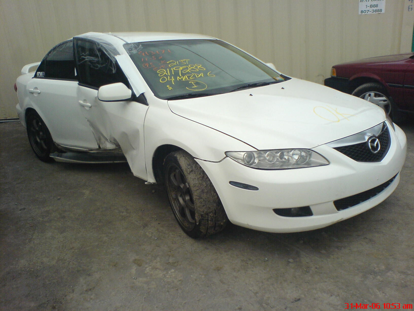 TOTALLED MAZDA6 PARTS FOR SALE - Mazda 6 Forums : Mazda 6 Forum ...