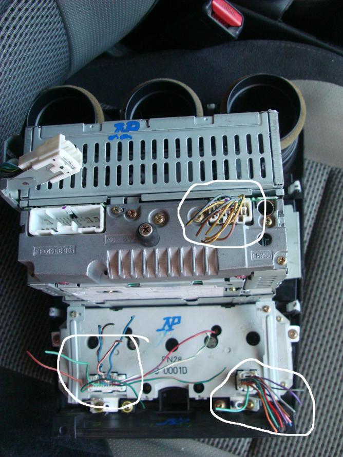 2004 Mazda 6 Radio Wiring Diagram