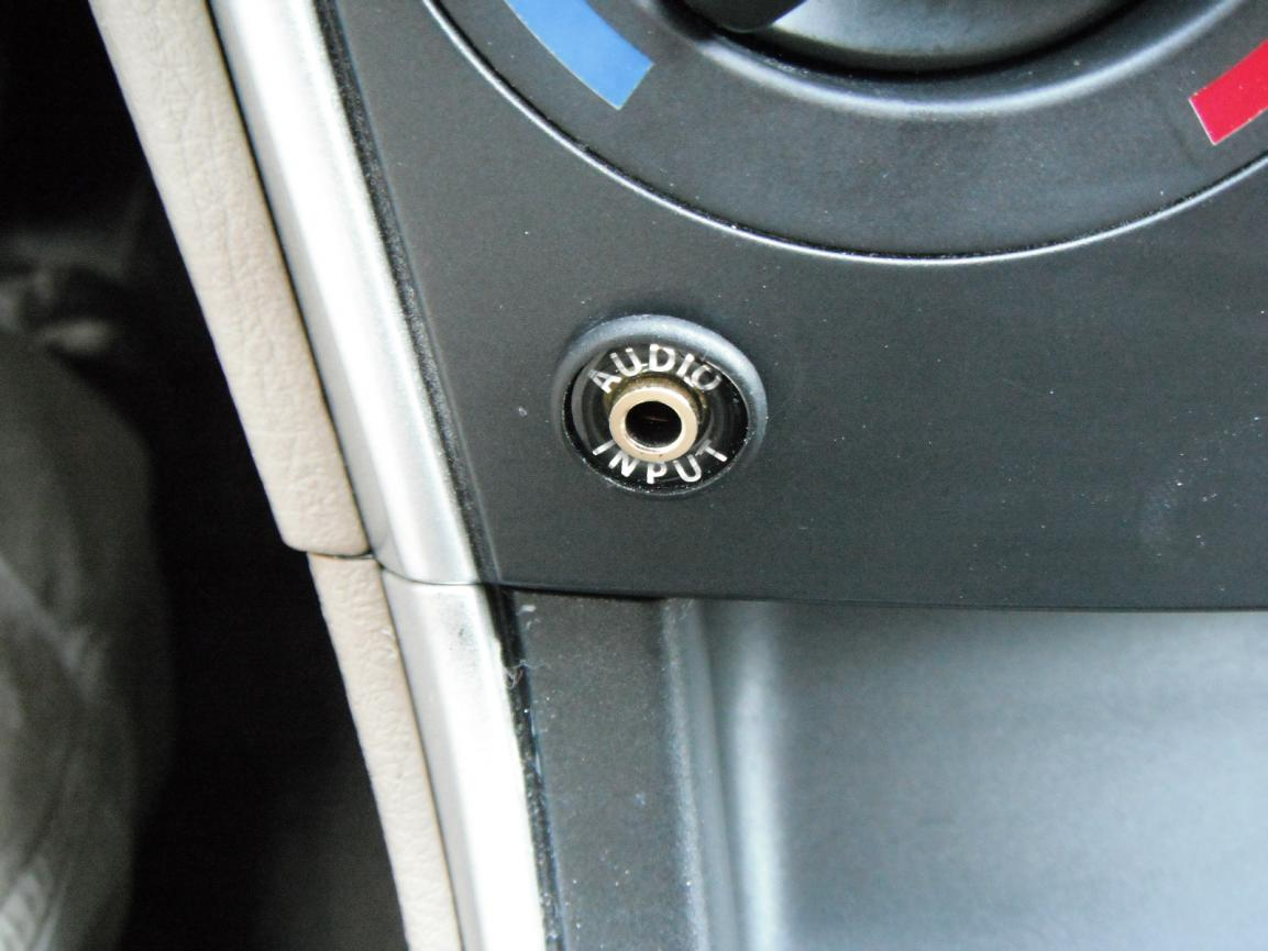 aux input on the tape/md blank piece - mazda 6 forums : mazda 6