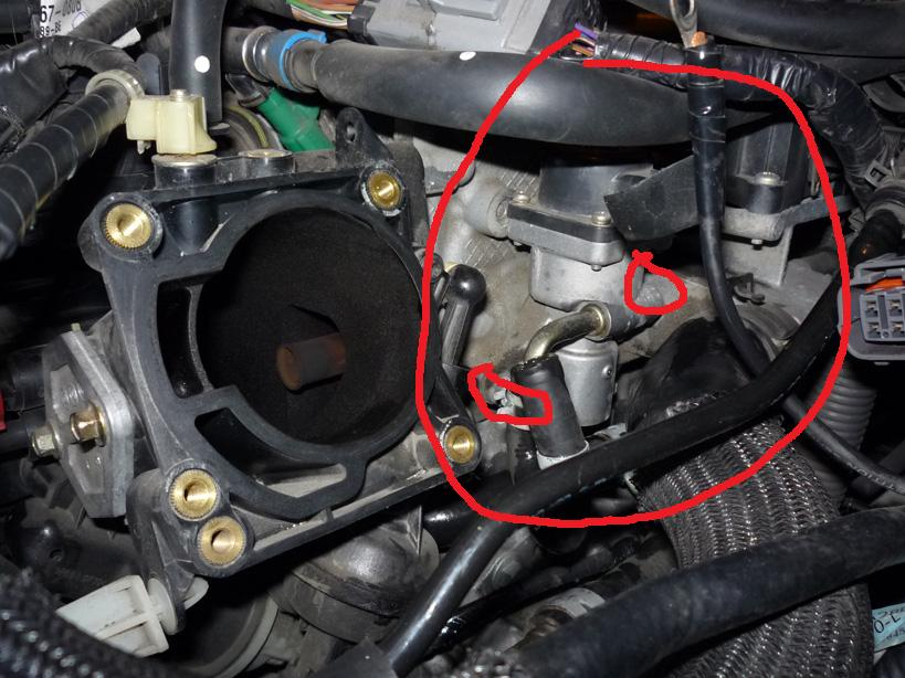 egr removal and cleaning? | mazda 6 forums  mazda 6 forums