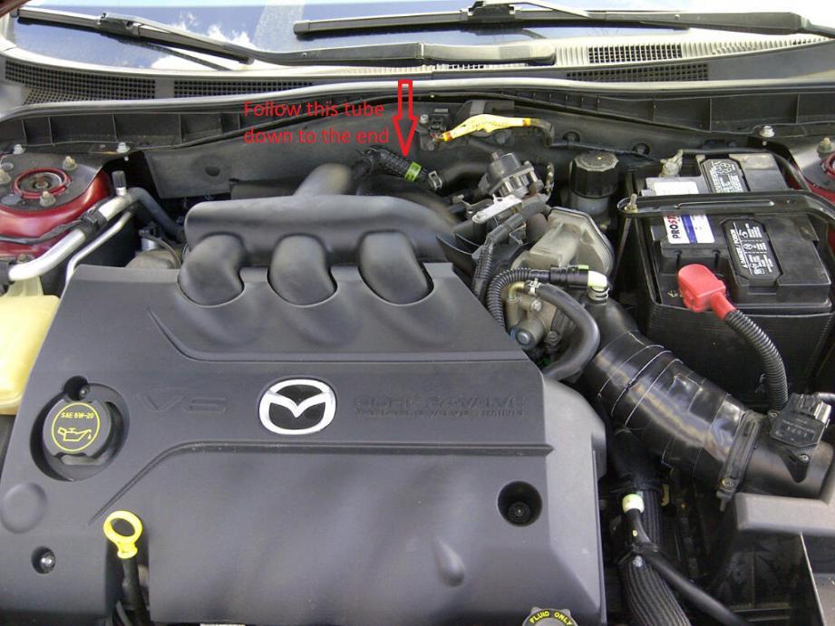D S V Pcv Valve Failure Excessive Oil Consumpti Engine Bay Pcv