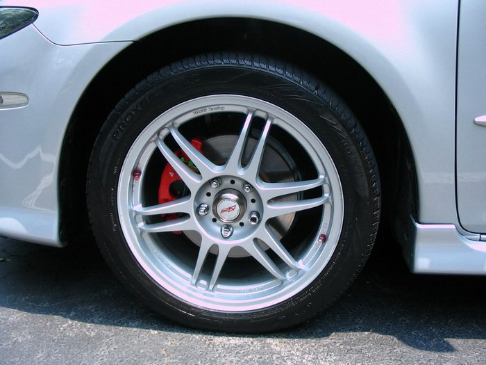 How To Paint Your Brake Calipers W Pics Mazda 6
