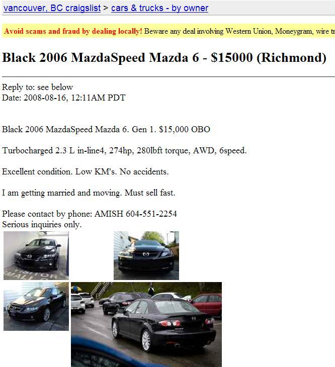 Exelent Craigslist Vancouver Bc Cars For Sale By Owner Elaboration ...