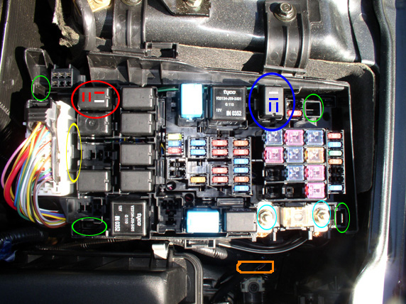 Mazda 6 Interior Fuse Box Cover Wiring Diagram Module B Module B Emilia Fise It