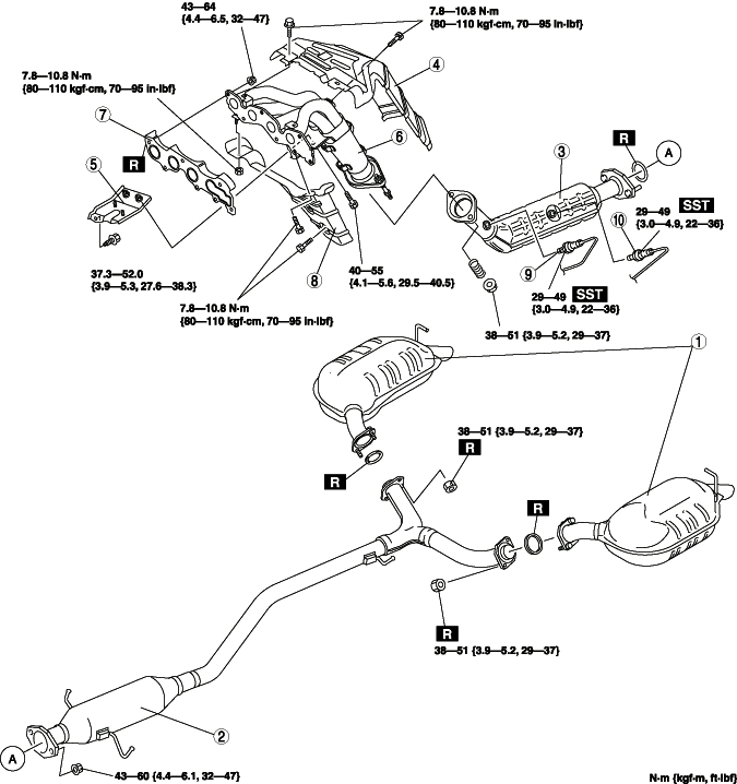 2007 model and exhaust compatibility