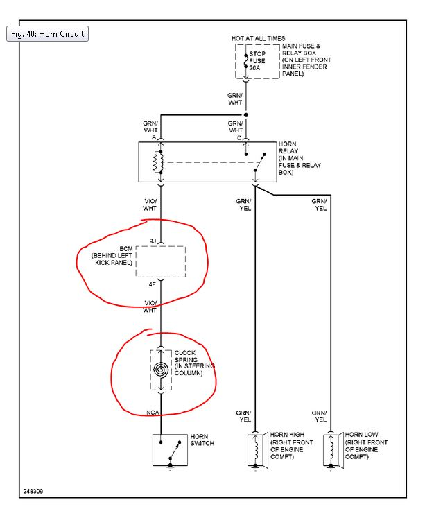 Mazda 3 Horn Wiring Diagram