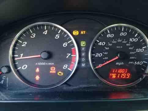 Mazda Dashboard Lights Car Image Idea