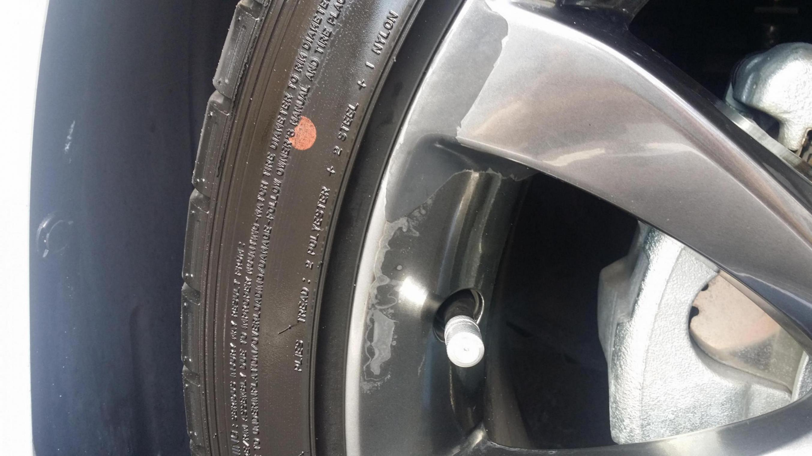 how to fix rims with clear coat peeling