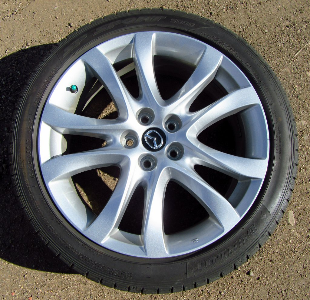 Oem 2016 Mazda6 19 Quot Wheels And Tires Excellen Mazda 6