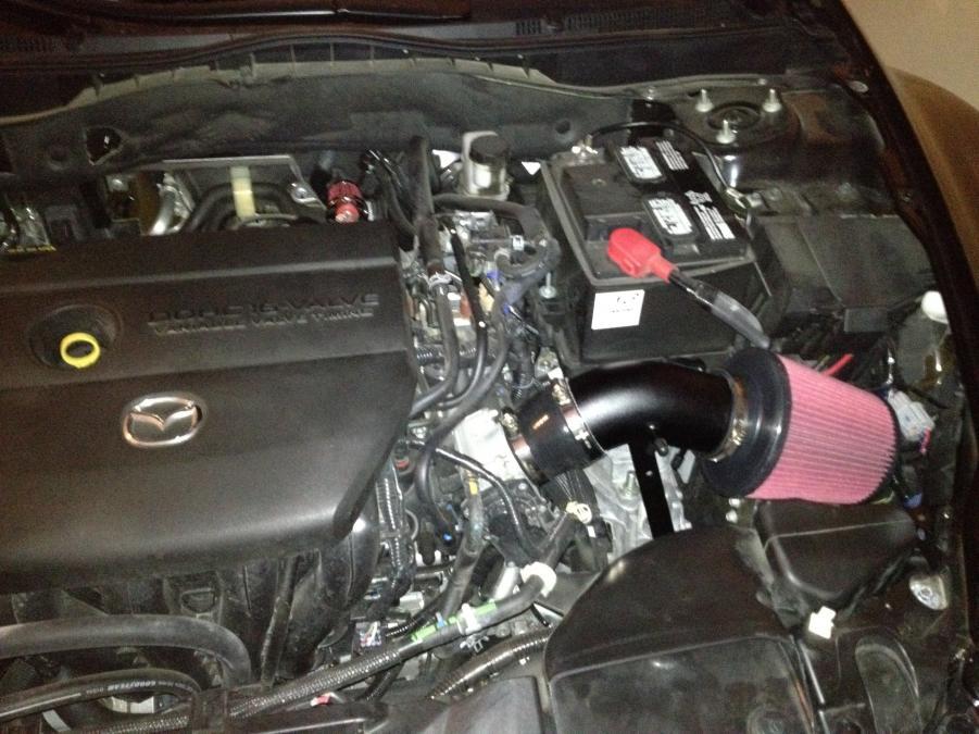 D Mazda Short Ram Intake Cel Img on Car Battery In Mazda 5 Location