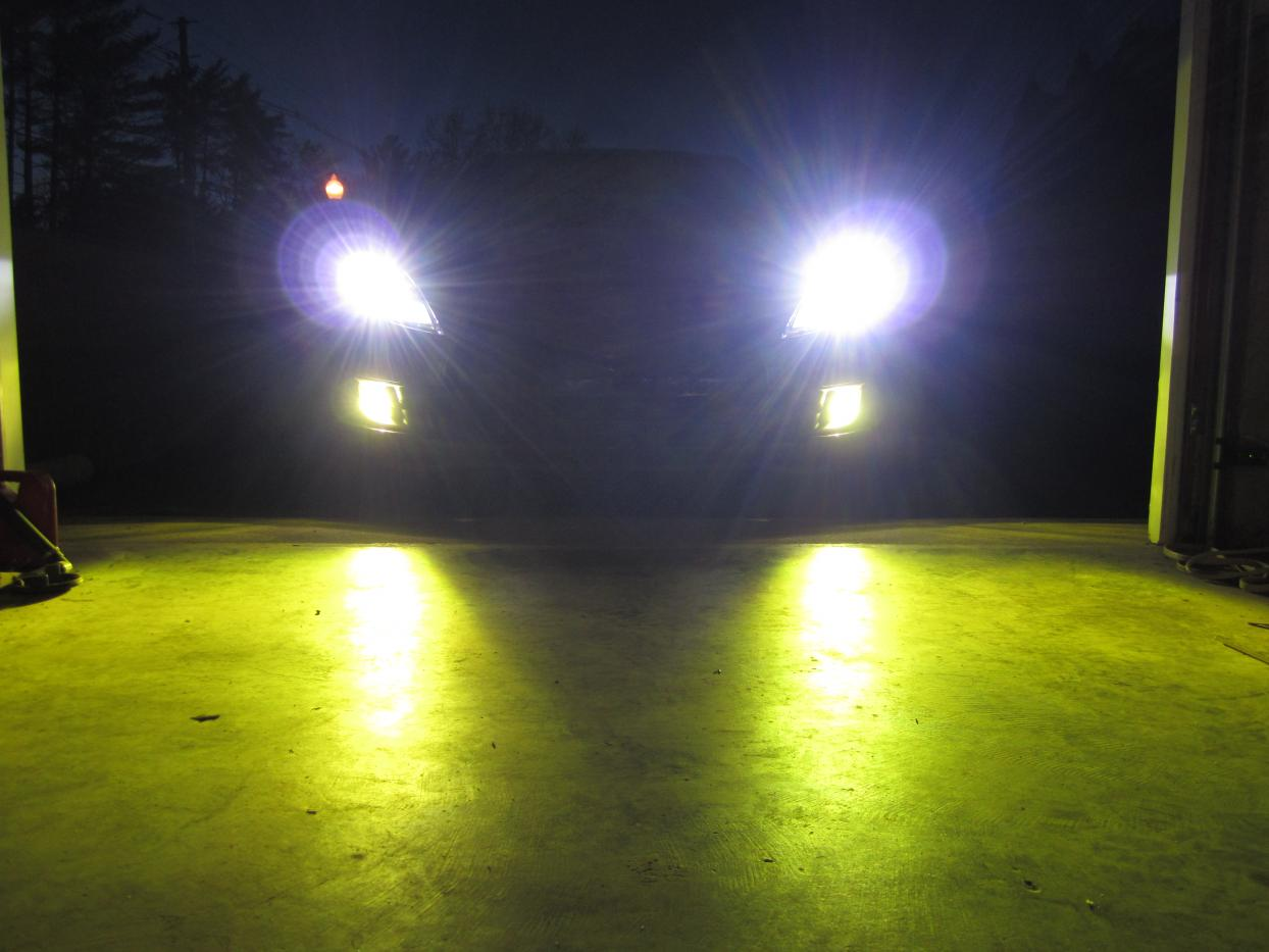 how to: install hid headlights & foglights with relay harness