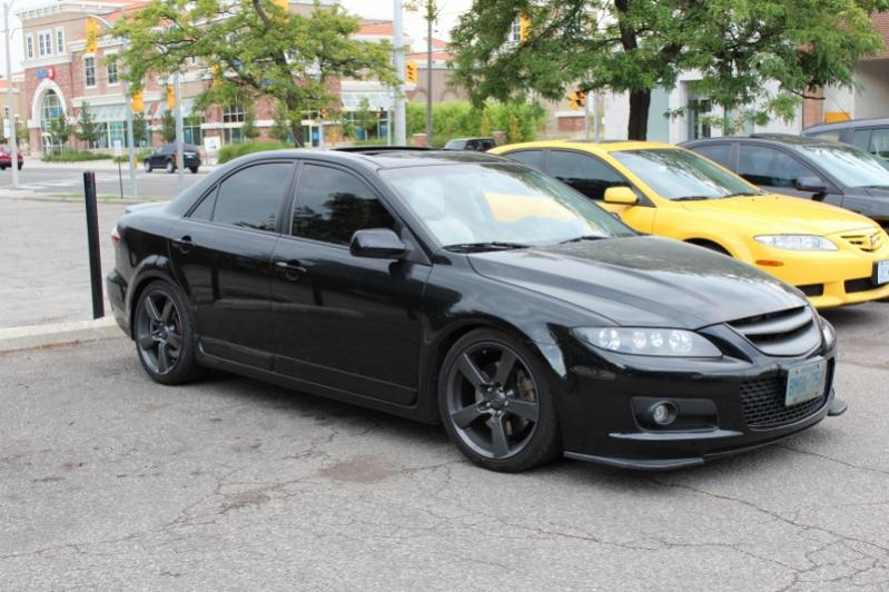 Anyone With A Dark 6 And Rx8 Wheels Page 2 Mazda 6