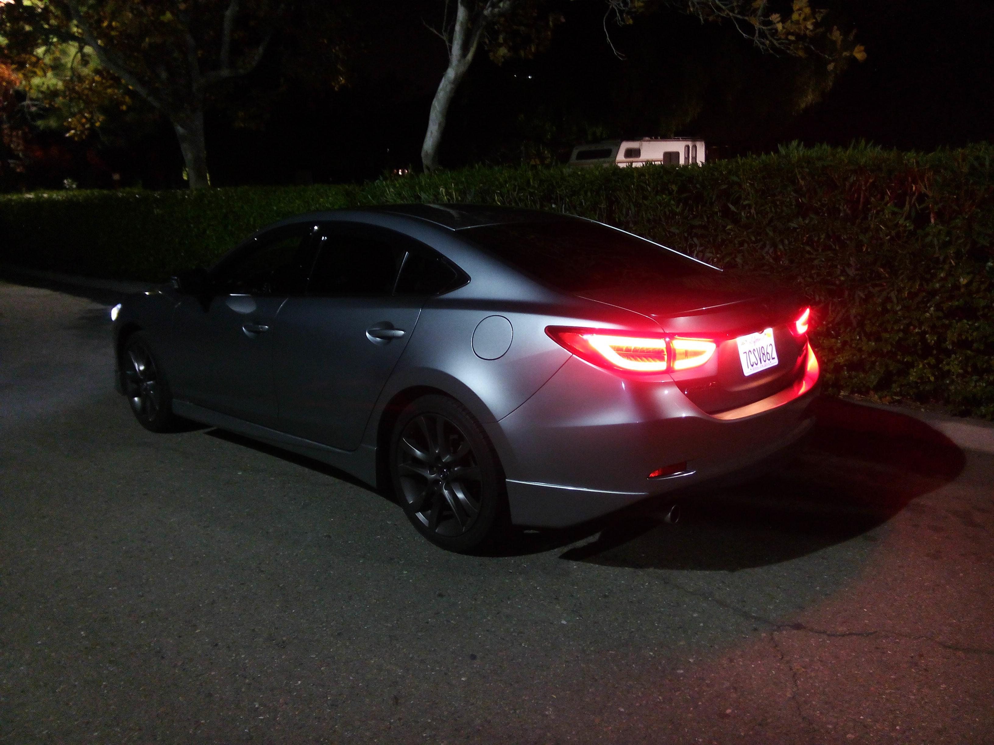 2016 mazda 6 tail lights