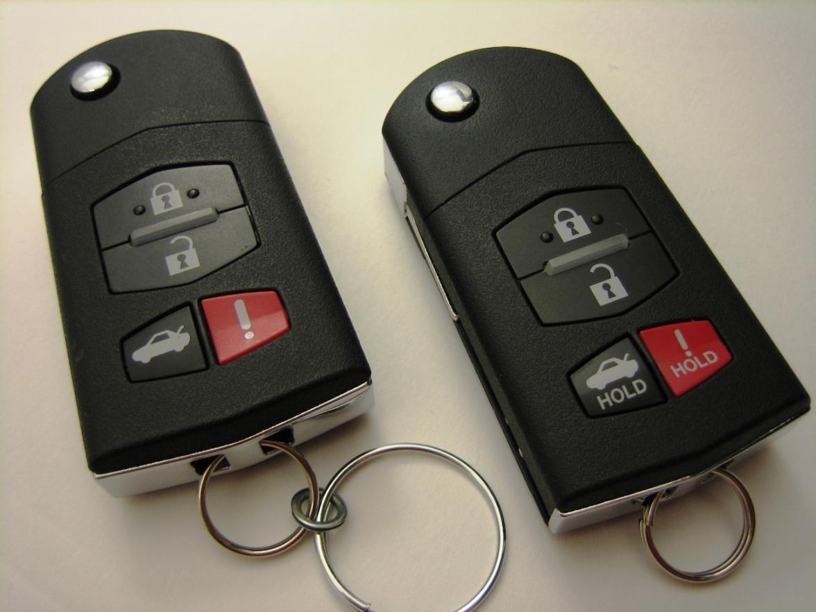 ключ mazda 6