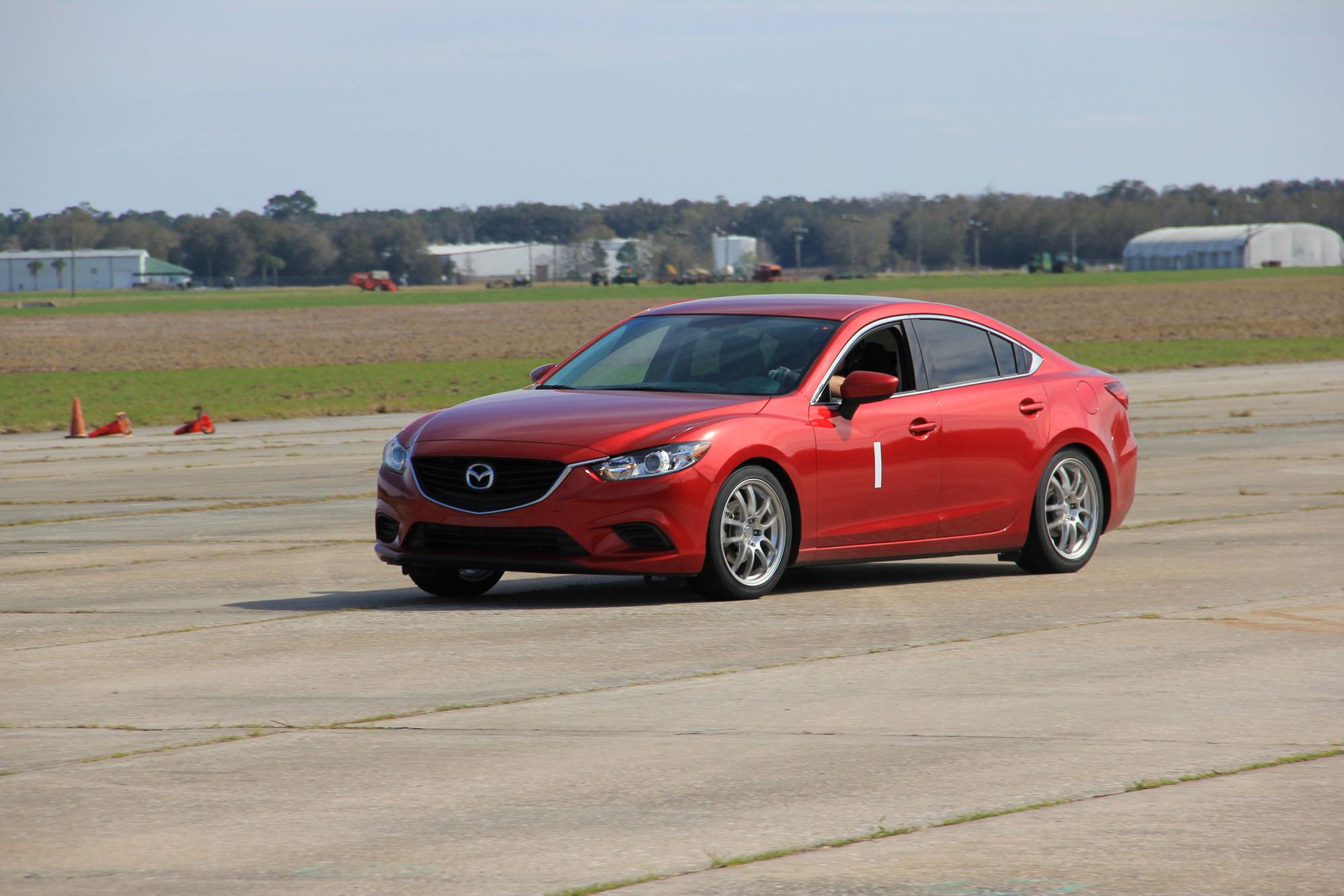 Mazda 3 autocross