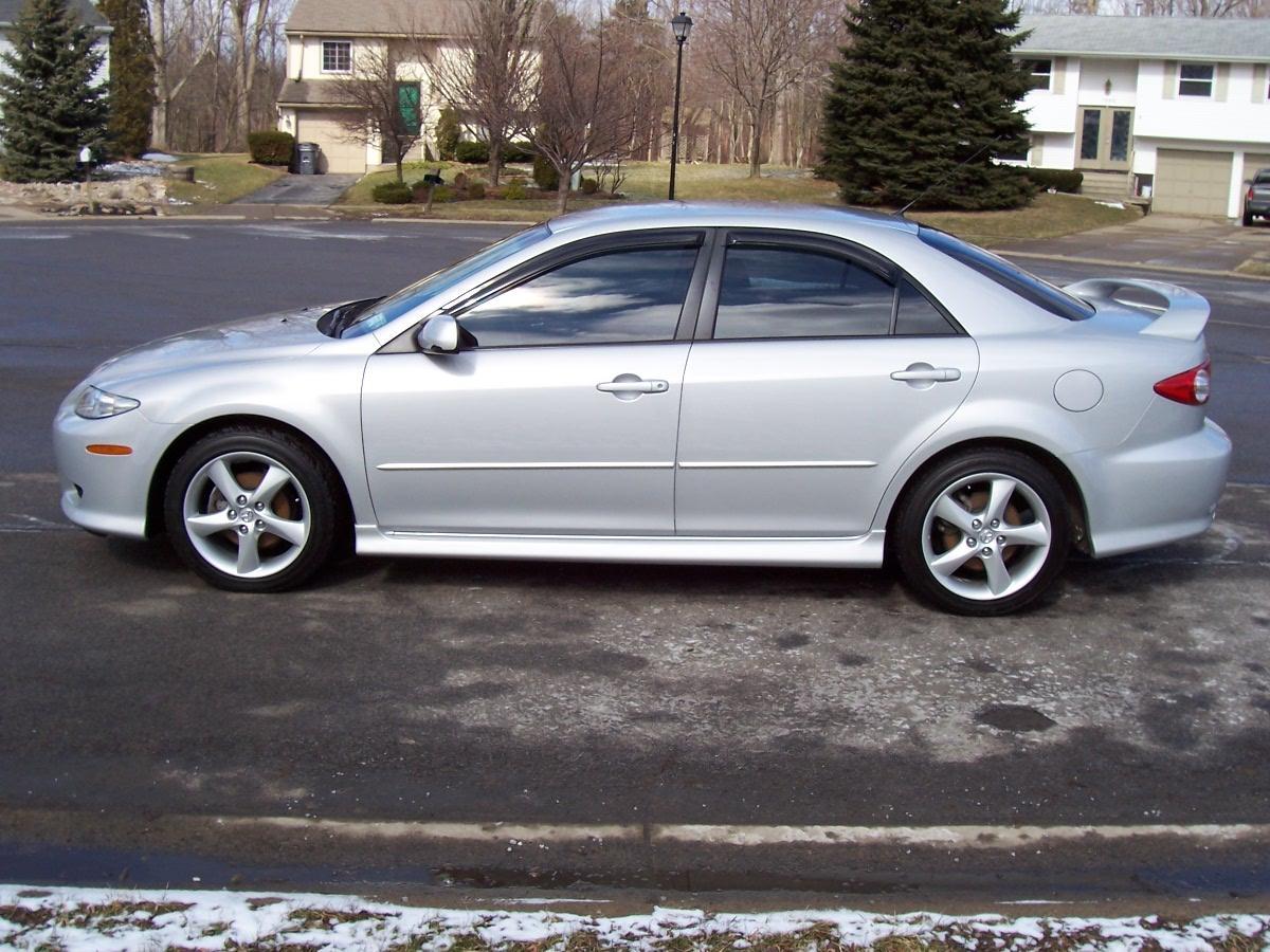 Fs 2004 Mazda 6s 5 Spd Silver 30 8k Miles 13 900 Mazda