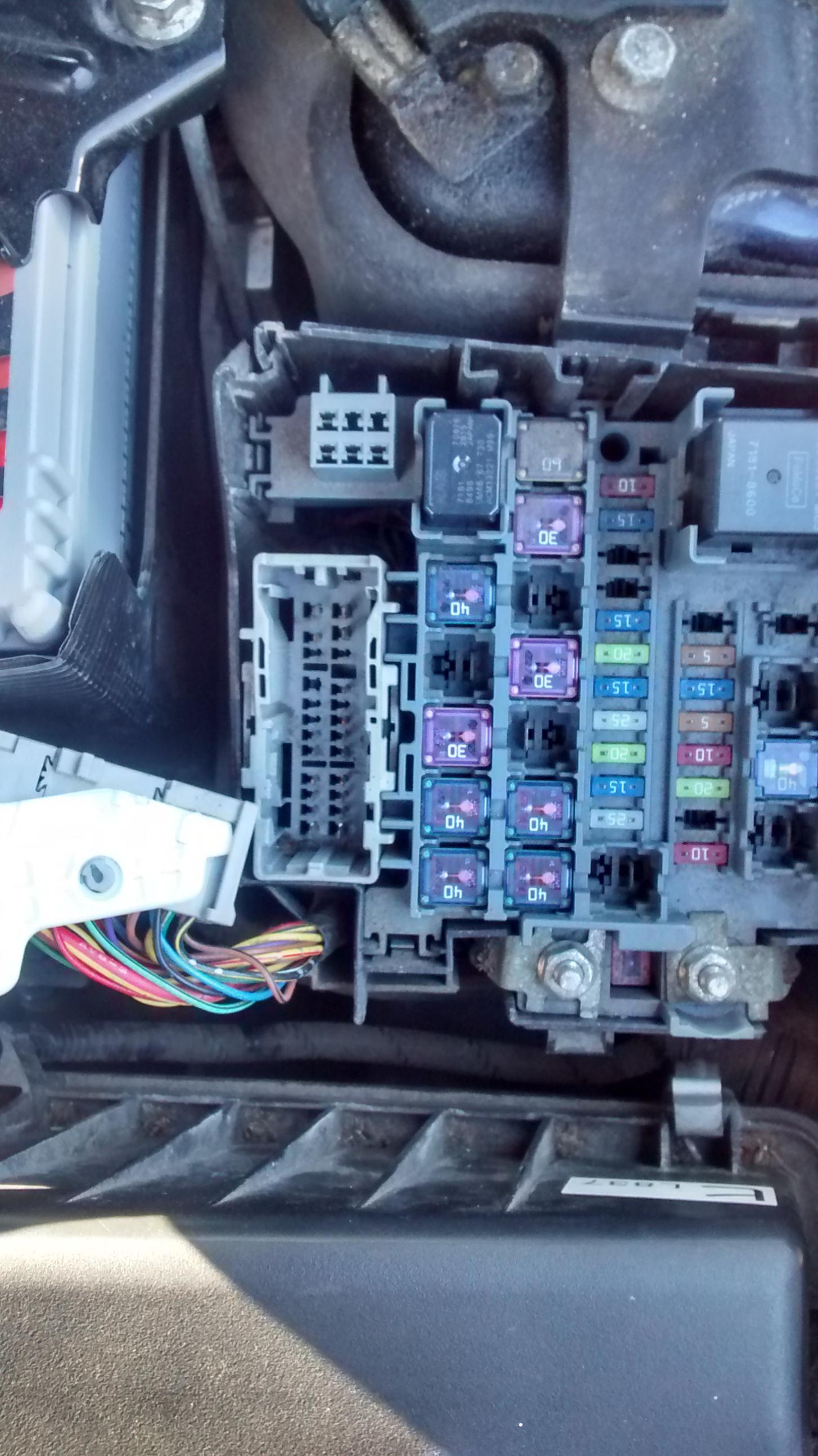 2010 mazda 6 fuse box location random alarm triggering fixed  mazda 6 forums  random alarm triggering fixed  mazda