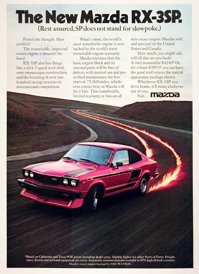 ~~Daily Feed, post what made you laugh today ~~-mazda-rx3-ad.jpg