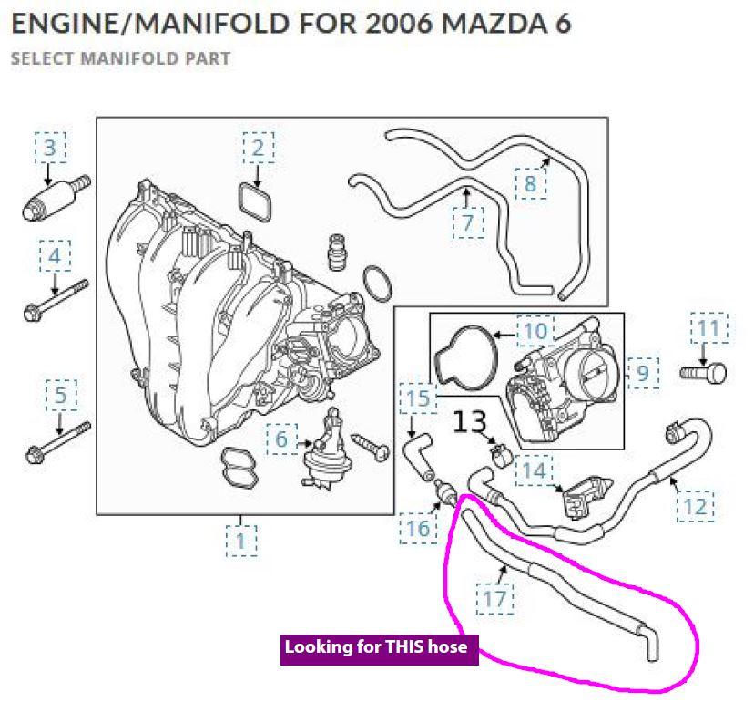 vacuum hose diagram 19932002 25l v6 mazda626net forums general rh 5 tgbvb mein aquascape de 2012 Mazda 6 Radio Schematics 2001 Mazda MPV Fuse Diagram