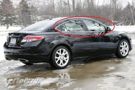 Speed6 Chrome Window Trim Mazda 6 Forums Mazda 6