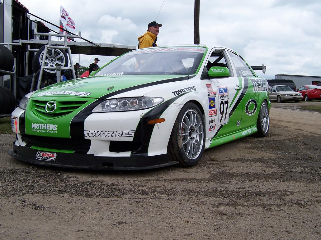 Anyone have wallpaper pics of touring 6 race cars? - Mazda 6 Forums ...