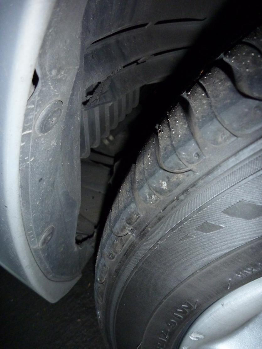 Front Fender Liner Messed Up Mazda 6 Forums Mazda 6