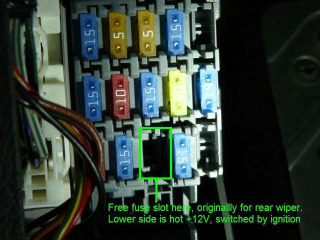 2007 Mazda 6 Fuse Box Cover - Electrical Work Wiring Diagram •